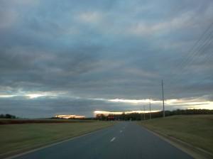 Approaching Dr. M.L. King Jr. Blvd. on Bob Wade, Huntsville AL 35810
