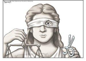 Source: Bennett Archive: Blind Justice,