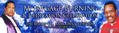 Mortgage Burning & Dedication Celebration