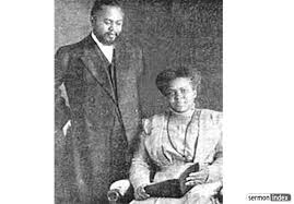 32 B William J Seymour w wife Jenny Moore