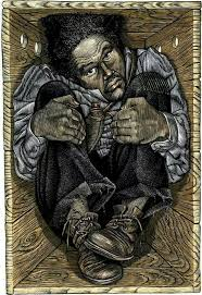"""The Resurrection of Henry """"Box"""" Brown: Escaped to freedom at the age of 33 by arranging to have himself mailed in a wooden crate in 1849 to abolitionists in Philadelphia, Pennsylvania."""